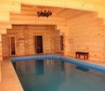 Русская баня с бассейном Дом Солнца фото
